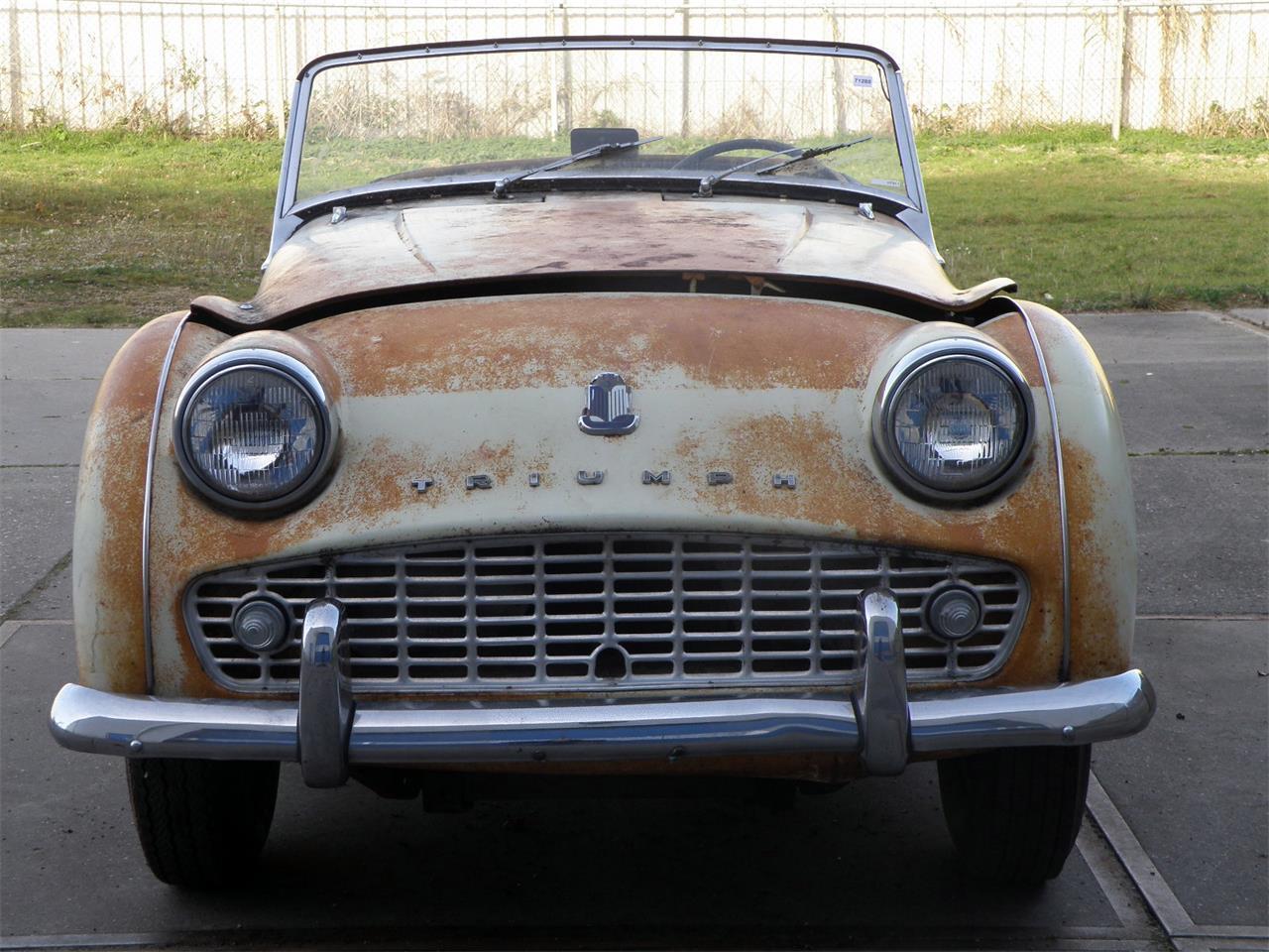 1959 Triumph Tr3a For Sale Classiccarscom Cc 937913