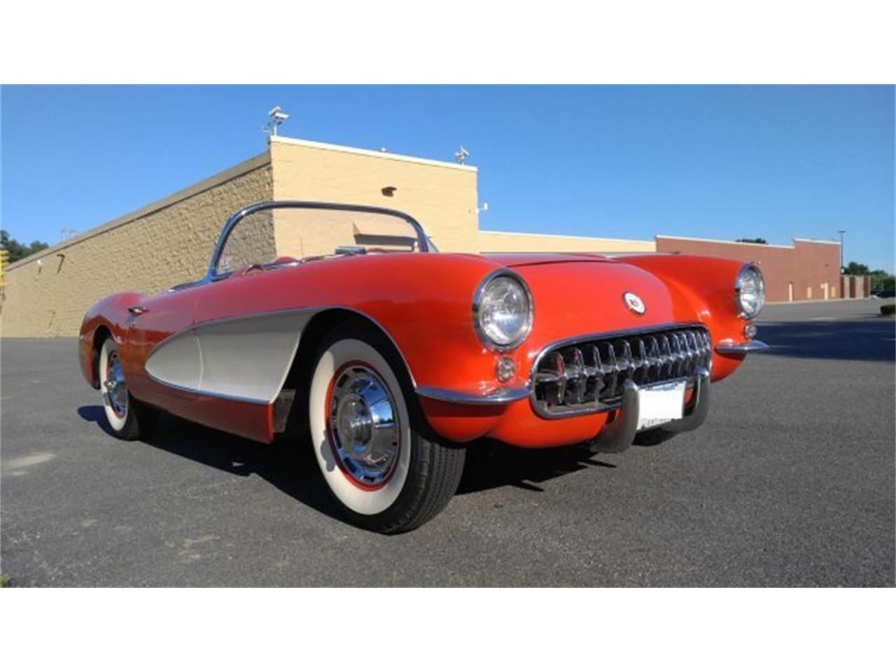 Large Picture of '56 Corvette located in Hanover Massachusetts Offered by CARuso Classic Cars - K3QK