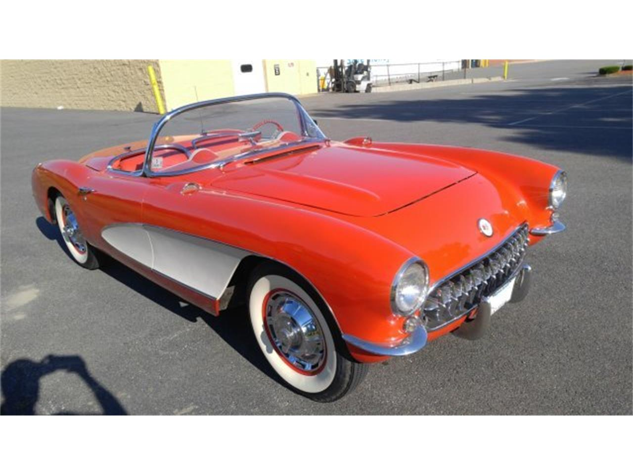 Large Picture of '56 Chevrolet Corvette located in Massachusetts Offered by CARuso Classic Cars - K3QK