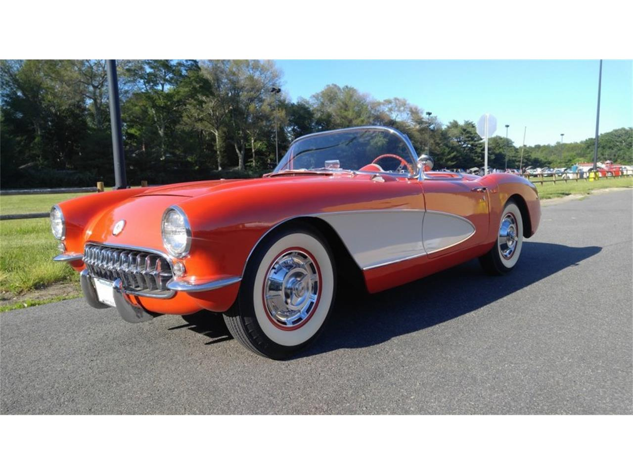 Large Picture of '56 Corvette located in Hanover Massachusetts - $59,500.00 Offered by CARuso Classic Cars - K3QK