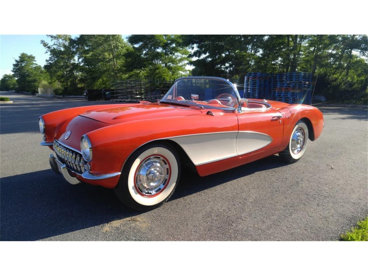 Large Picture of '56 Chevrolet Corvette located in Massachusetts - $59,500.00 Offered by CARuso Classic Cars - K3QK