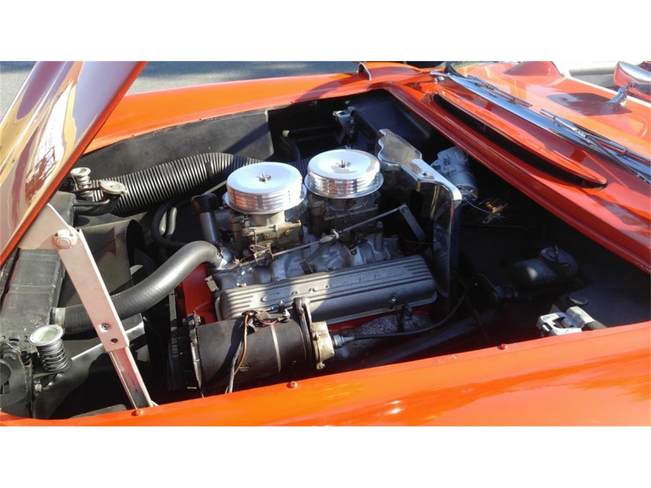 Large Picture of Classic '56 Corvette located in Massachusetts - $59,500.00 Offered by CARuso Classic Cars - K3QK