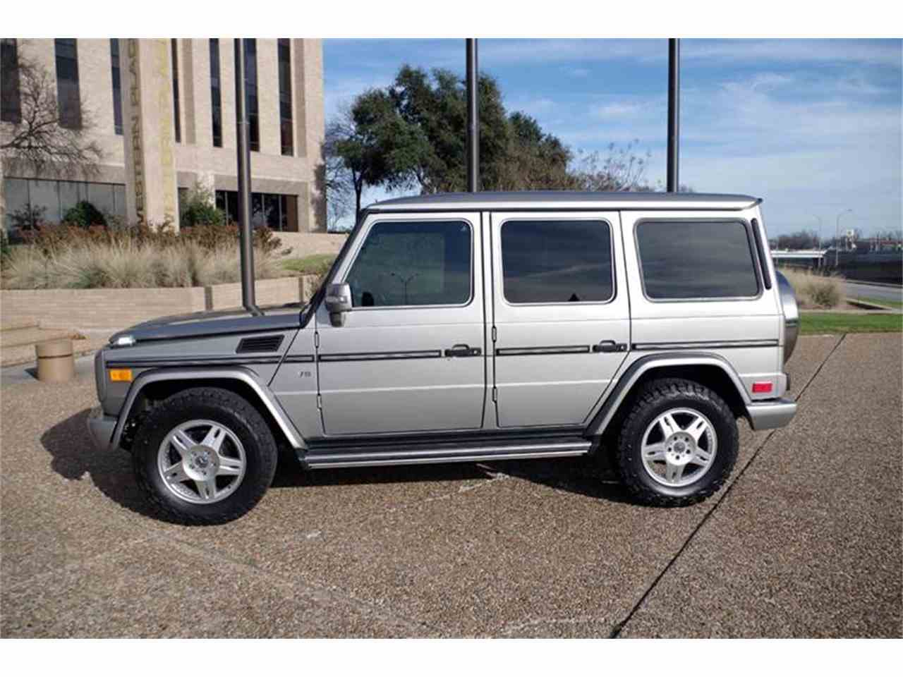 2005 mercedes benz g class for sale cc for Fort worth mercedes benz dealership