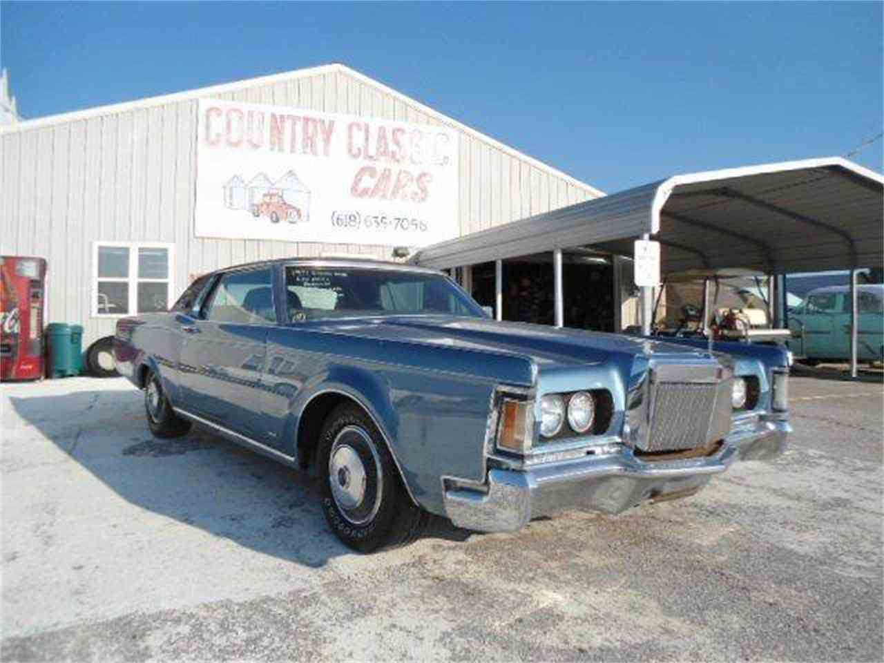 1971 lincoln continental mark iii for sale cc 938285. Black Bedroom Furniture Sets. Home Design Ideas