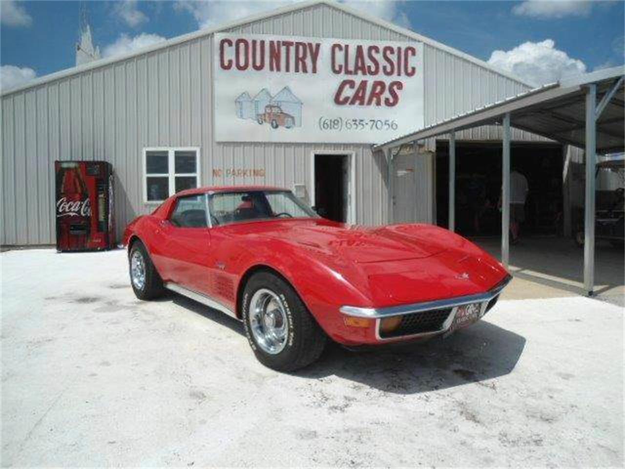 Large Picture of '72 Corvette - K41M