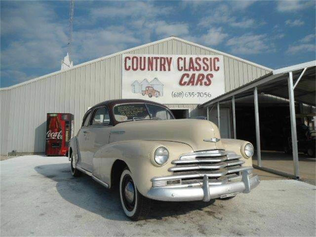 Large Picture of 1947 Chevrolet Coupe Offered by Country Classic Cars - K431