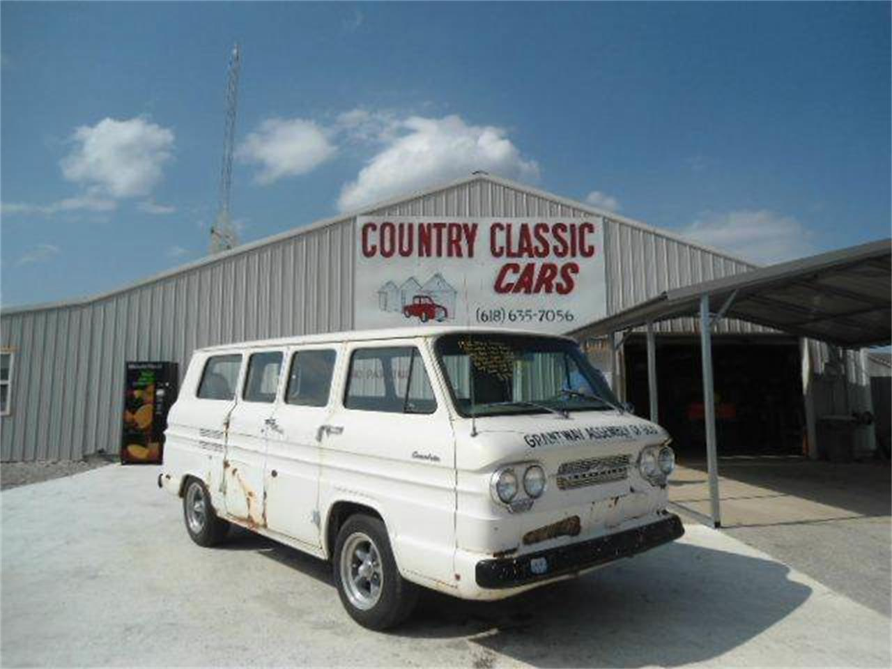 Large Picture of '62 Corvair - K48J
