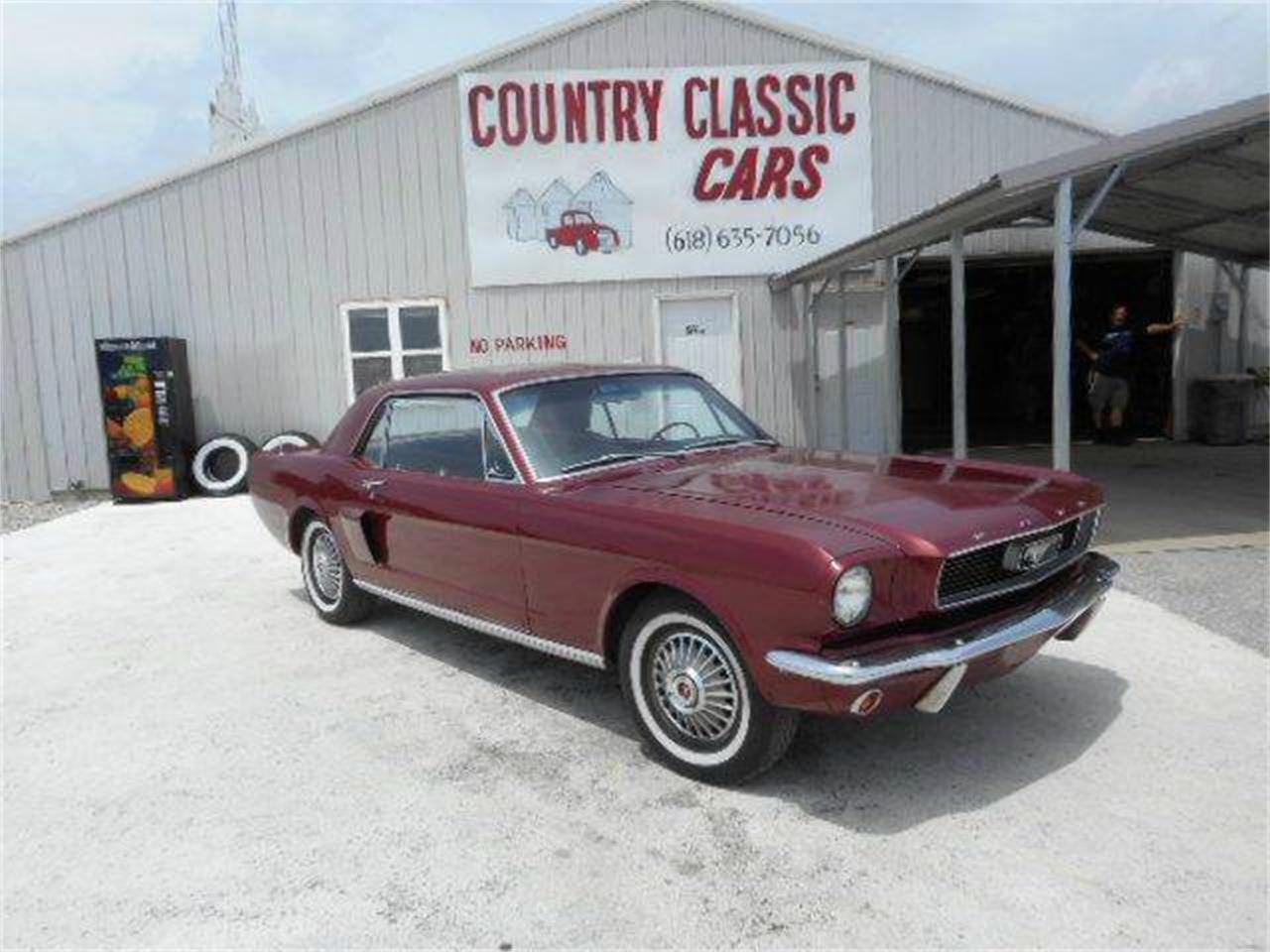 Large Picture of '66 Mustang - K49G