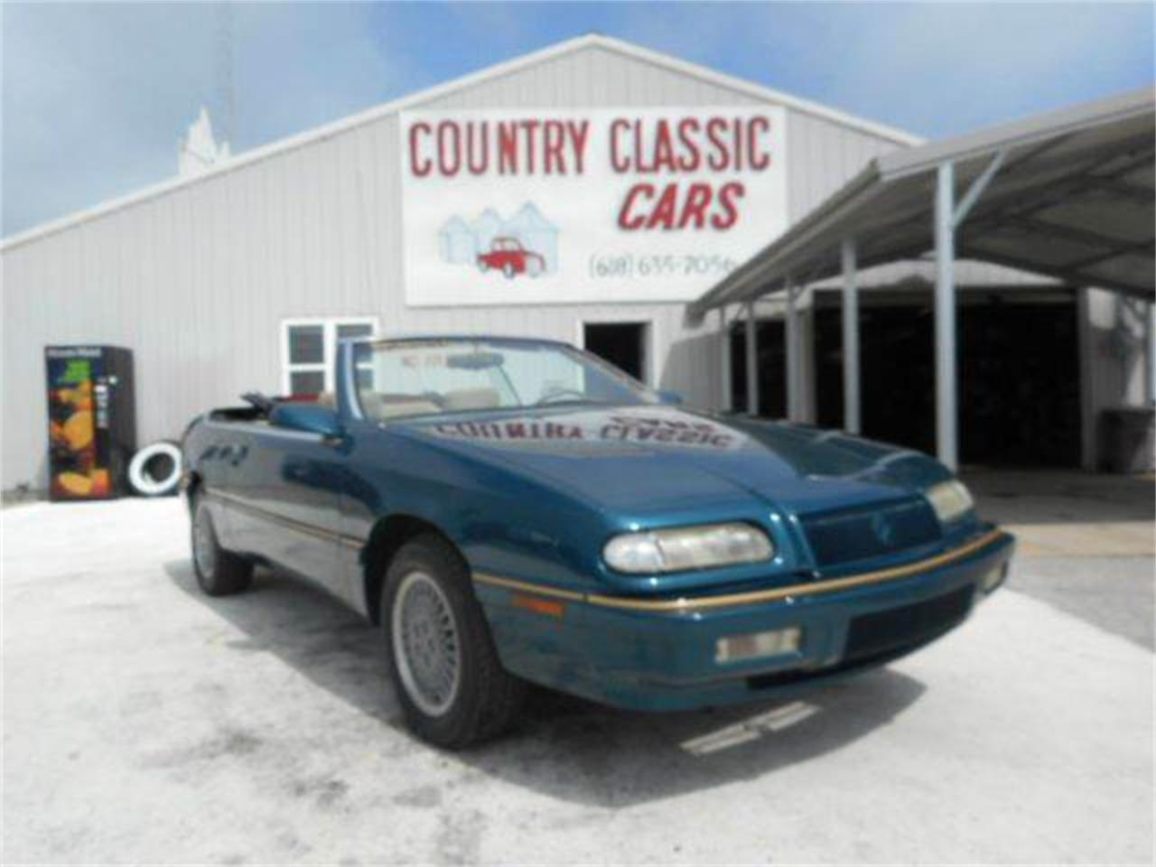 Large Picture of 1995 Chrysler LeBaron located in Staunton Illinois Offered by Country Classic Cars - K49J