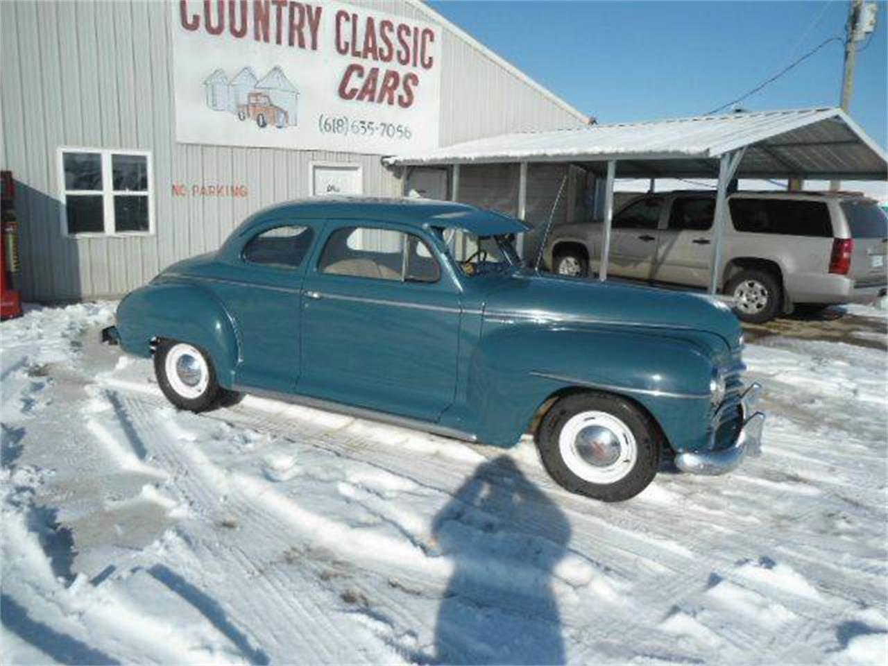 Large Picture of Classic '48 Plymouth Coupe located in Staunton Illinois Offered by Country Classic Cars - K49O