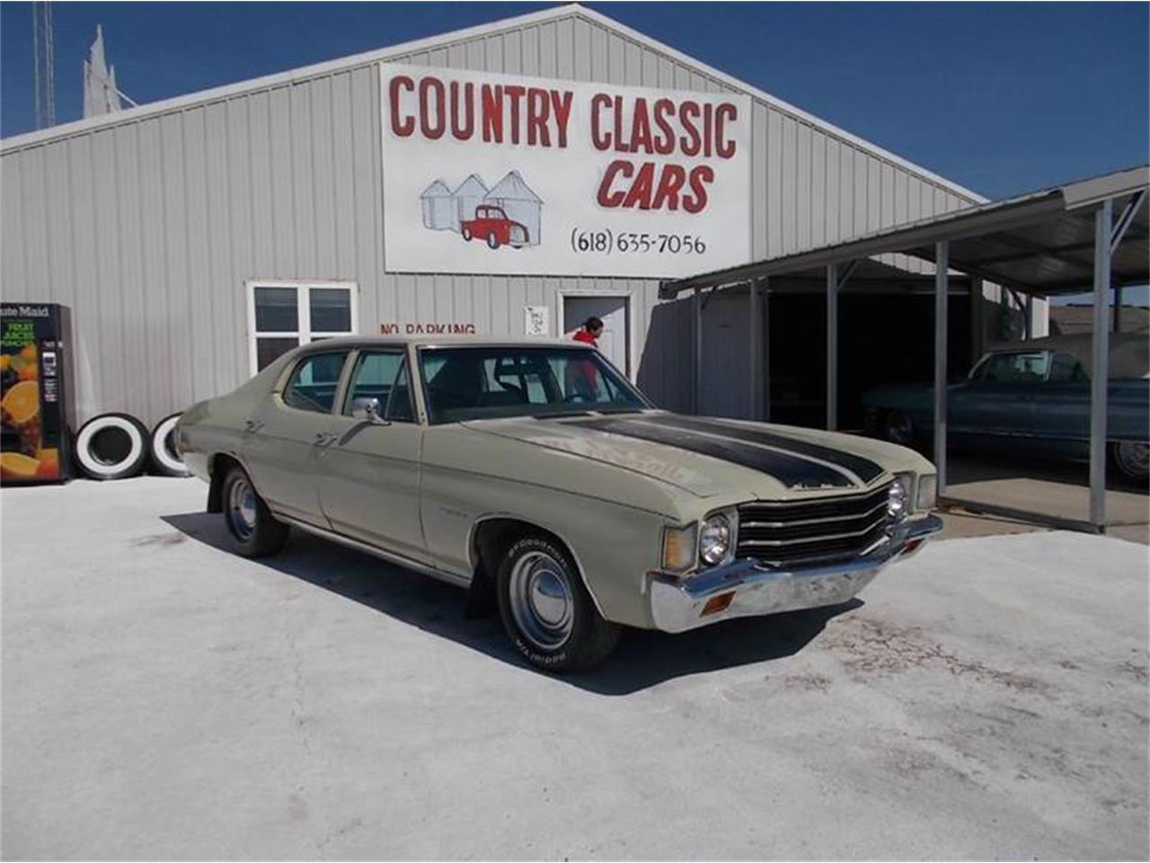 Large Picture of '72 Chevelle Malibu - K4BS