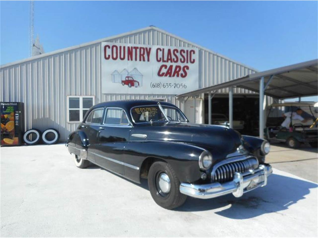 Large Picture of '47 Buick Sedan Offered by Country Classic Cars - K4BY