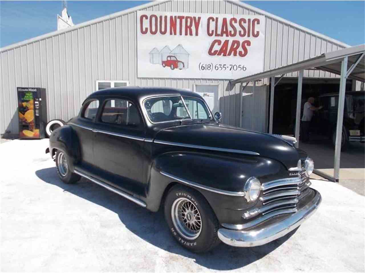 Large Picture of Classic 1948 Plymouth Coupe located in Illinois - K4DQ