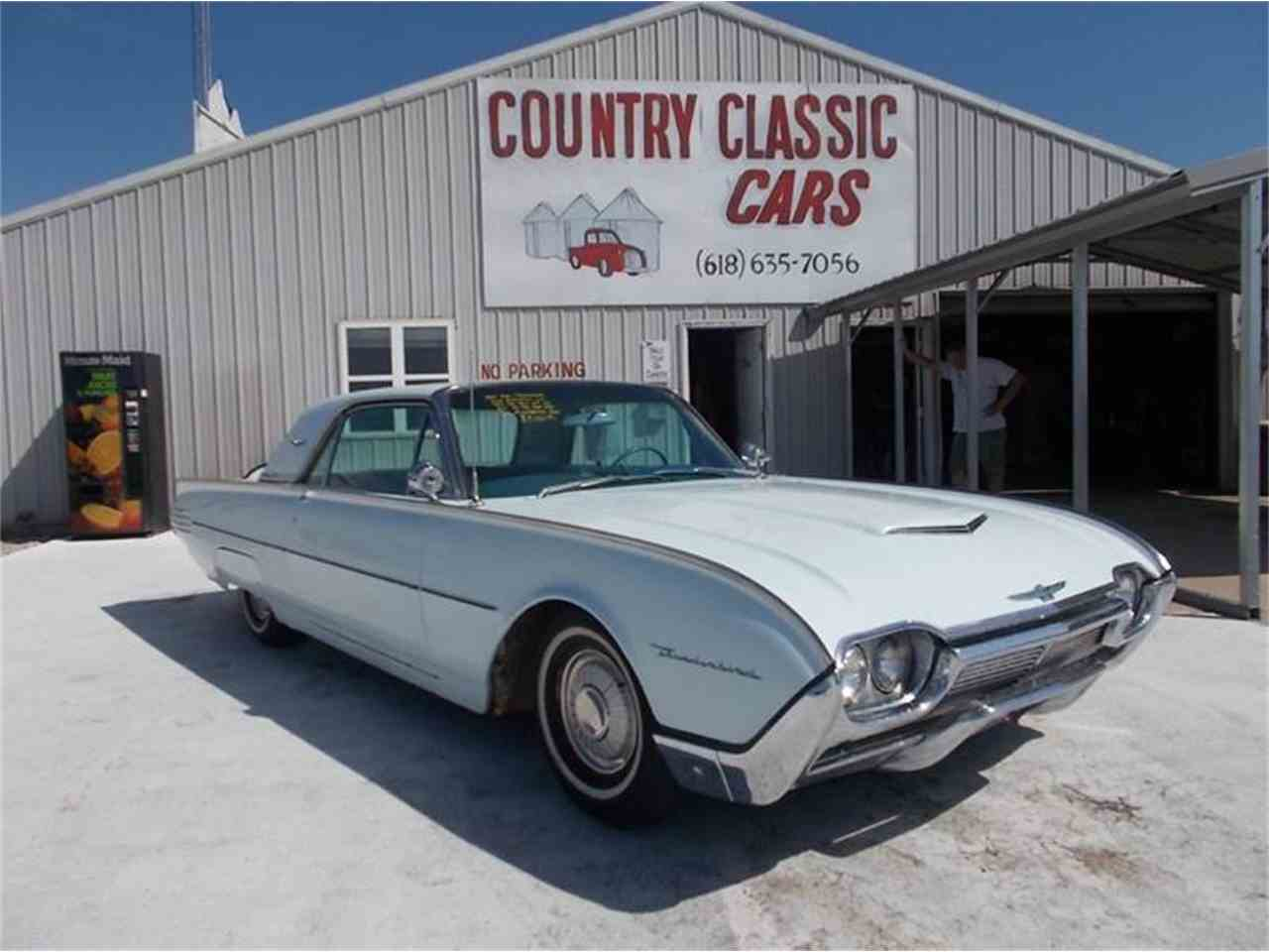1961 ford thunderbird for sale cc 938820. Black Bedroom Furniture Sets. Home Design Ideas