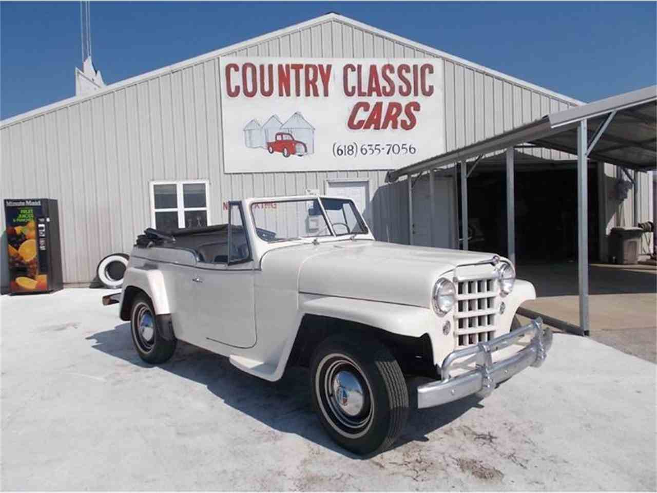 1950 Willys Jeepster for Sale | ClassicCars.com | CC-938873