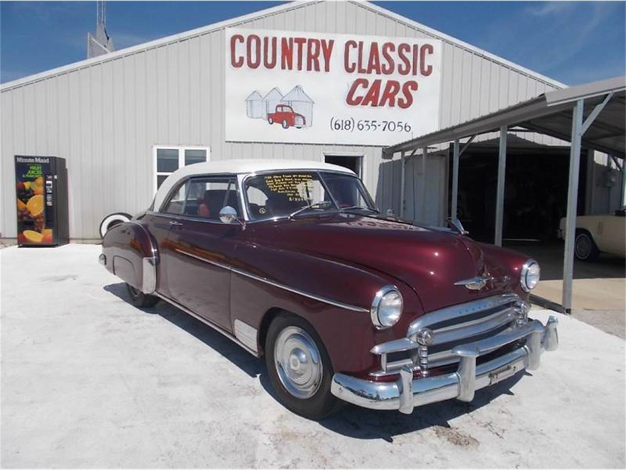 Large Picture of Classic '50 Chevrolet Street Rod Offered by Country Classic Cars - K4FU