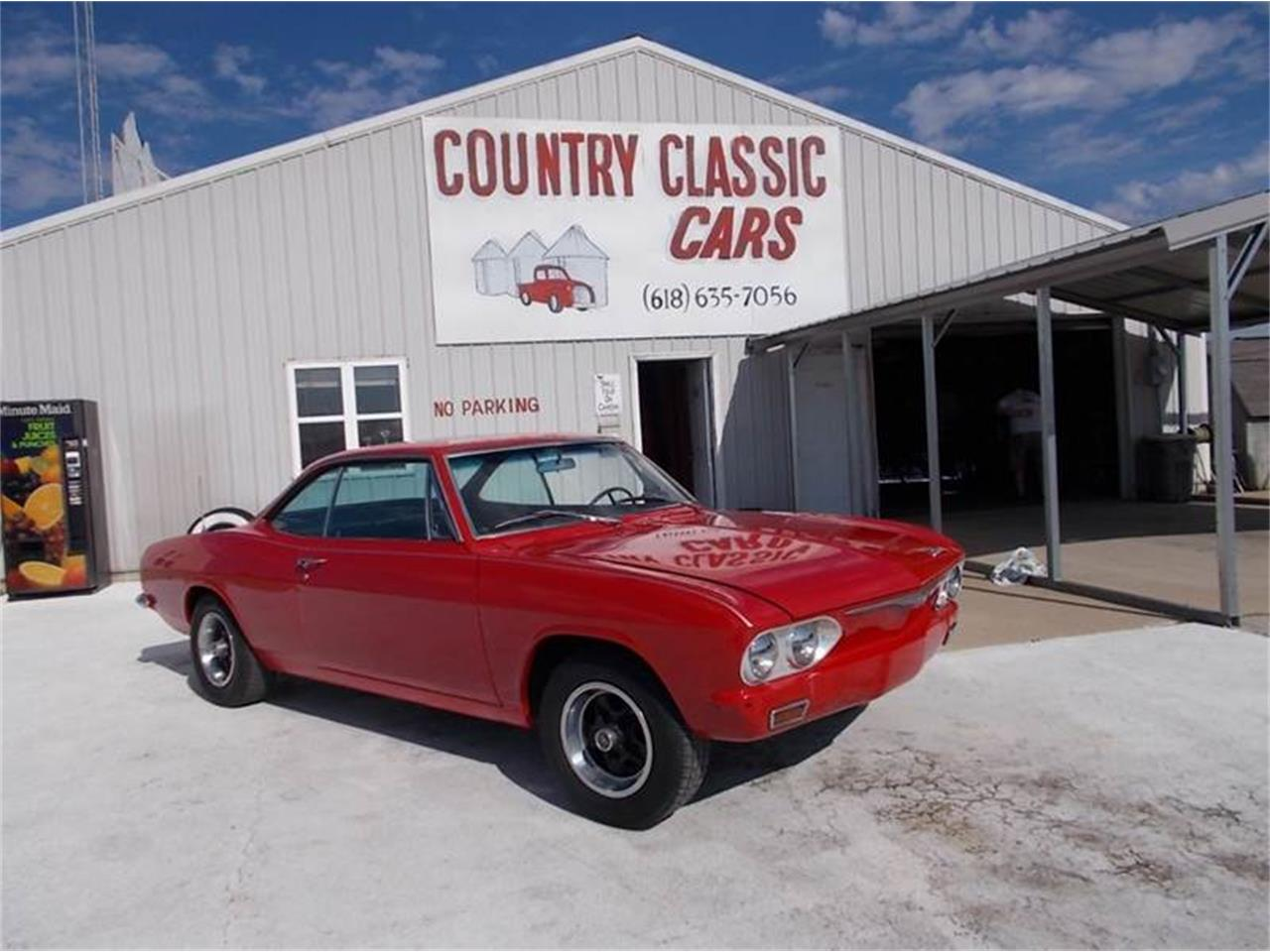 Large Picture of Classic 1965 Corvair located in Staunton Illinois Offered by Country Classic Cars - K4H5