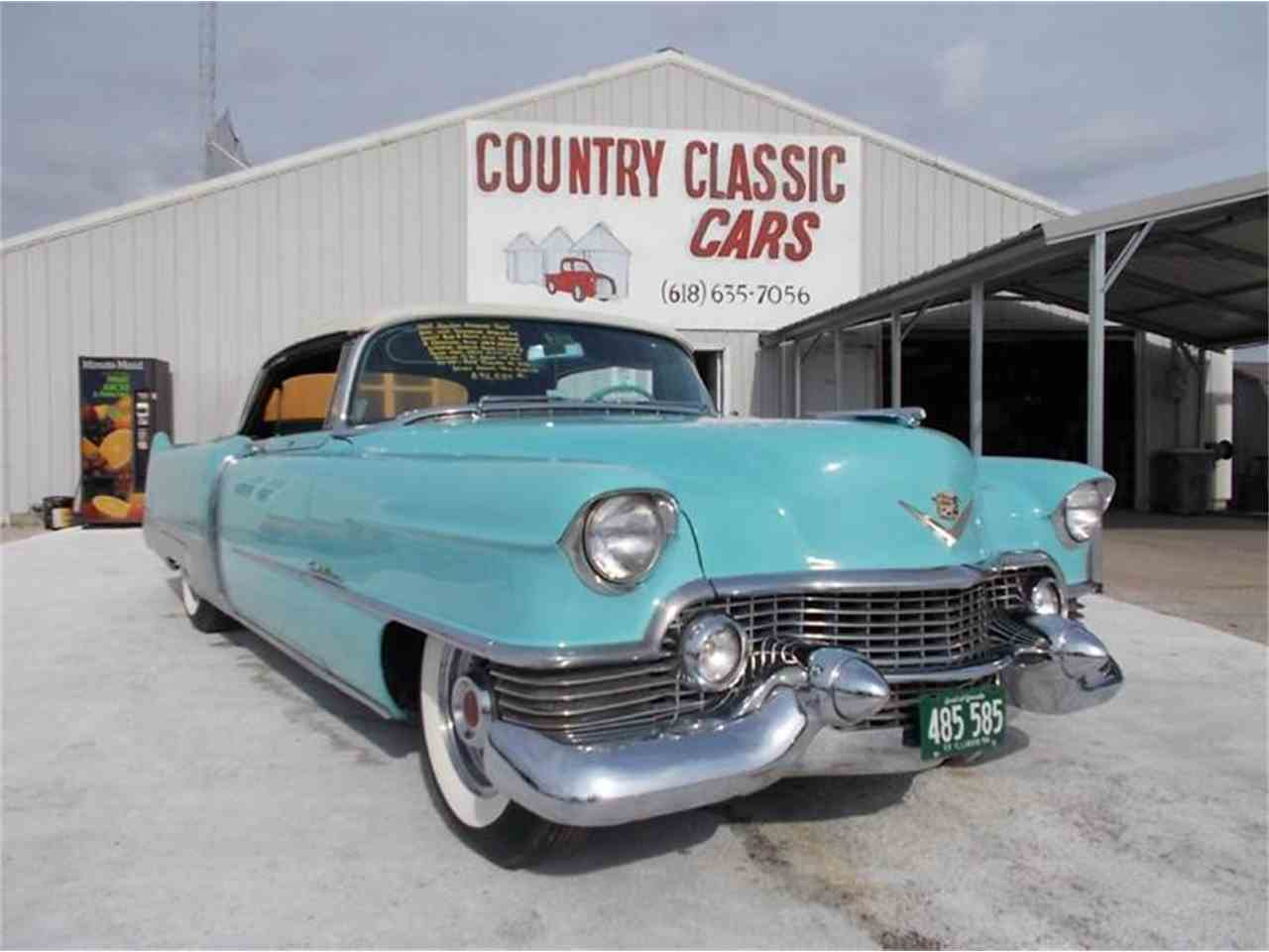 1954 cadillac eldorado for sale cc 938942. Black Bedroom Furniture Sets. Home Design Ideas