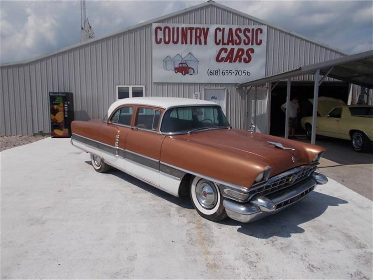 Large Picture of Classic 1956 Packard Patrician located in Staunton Illinois - $6,950.00 Offered by Country Classic Cars - K4IB