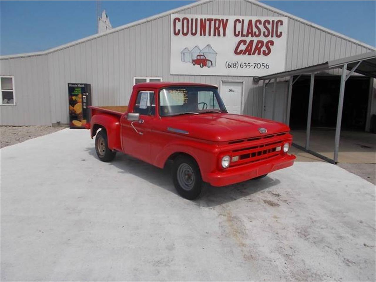1961 Ford F100 For Sale Cc 939000 Pick Up Large Picture Of 61 Located In Staunton Illinois K4jc