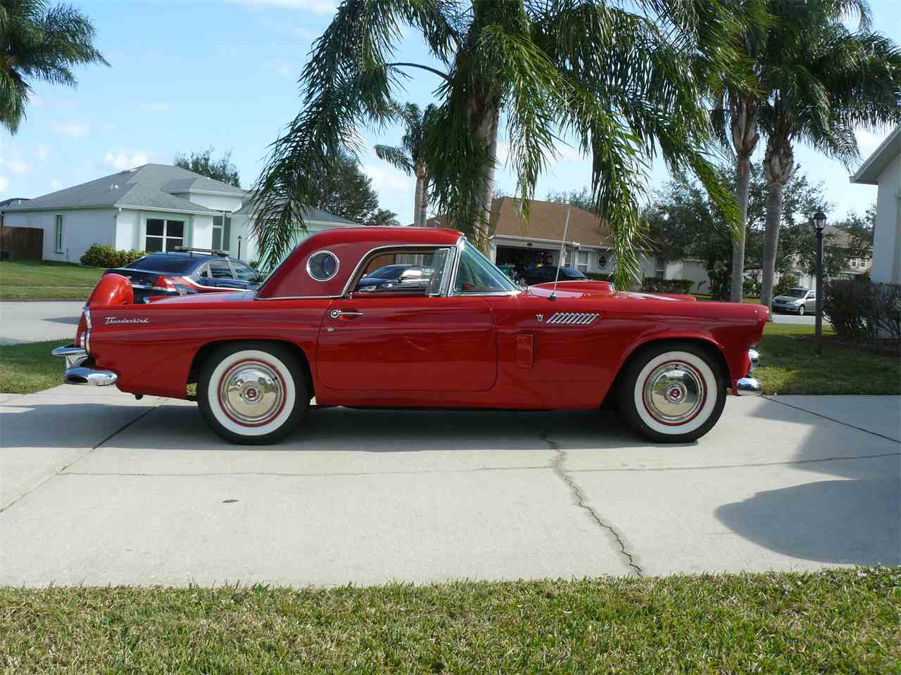 Large Picture of 1956 Thunderbird located in Malabar Florida - K4T1