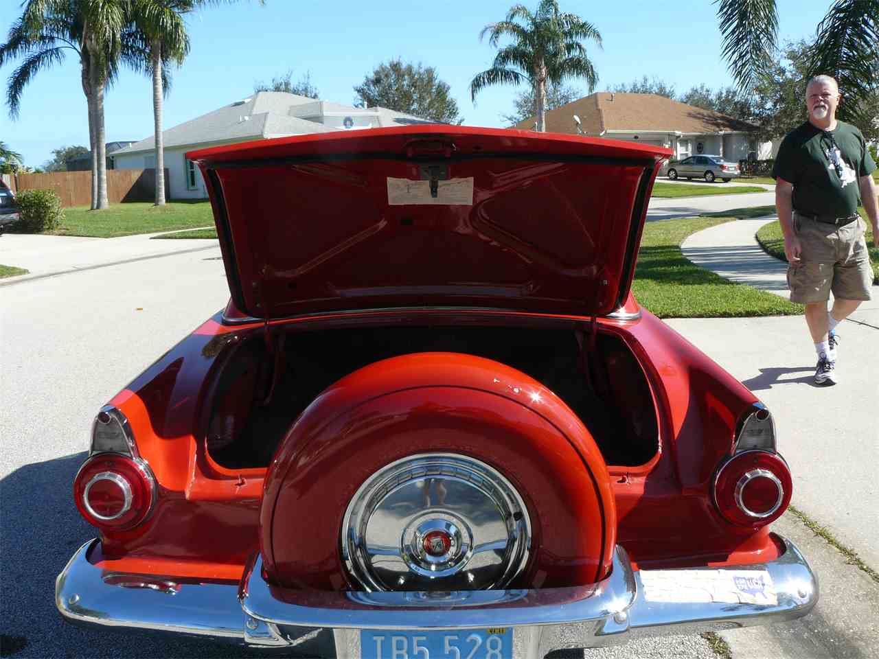 Large Picture of Classic 1956 Ford Thunderbird - K4T1