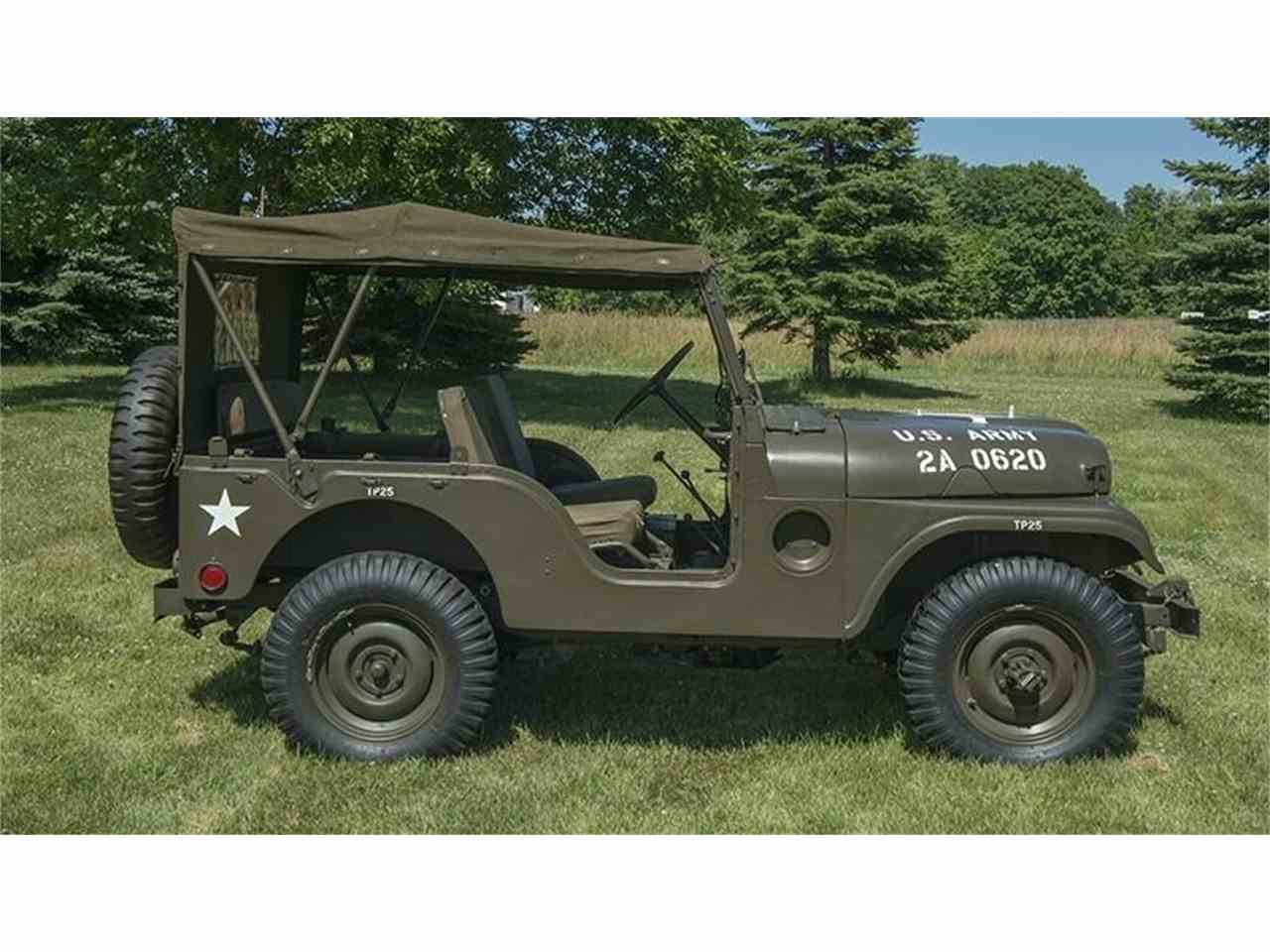 1954 jeep military for sale cc 939522. Black Bedroom Furniture Sets. Home Design Ideas