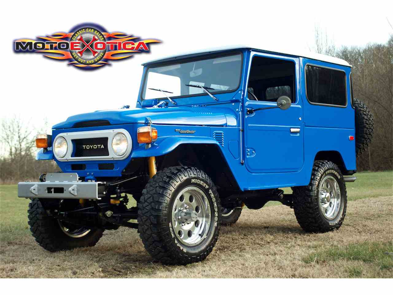 Large Picture of 1976 Land Cruiser FJ located in St. Louis Missouri Offered by MotoeXotica Classic Cars - K54J