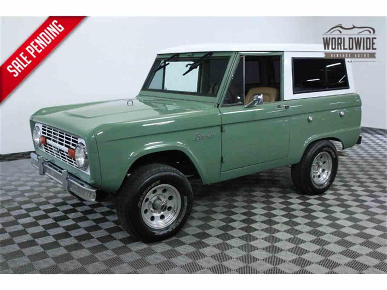 1969 Ford Bronco for Sale | ClassicCars.com | CC-940309