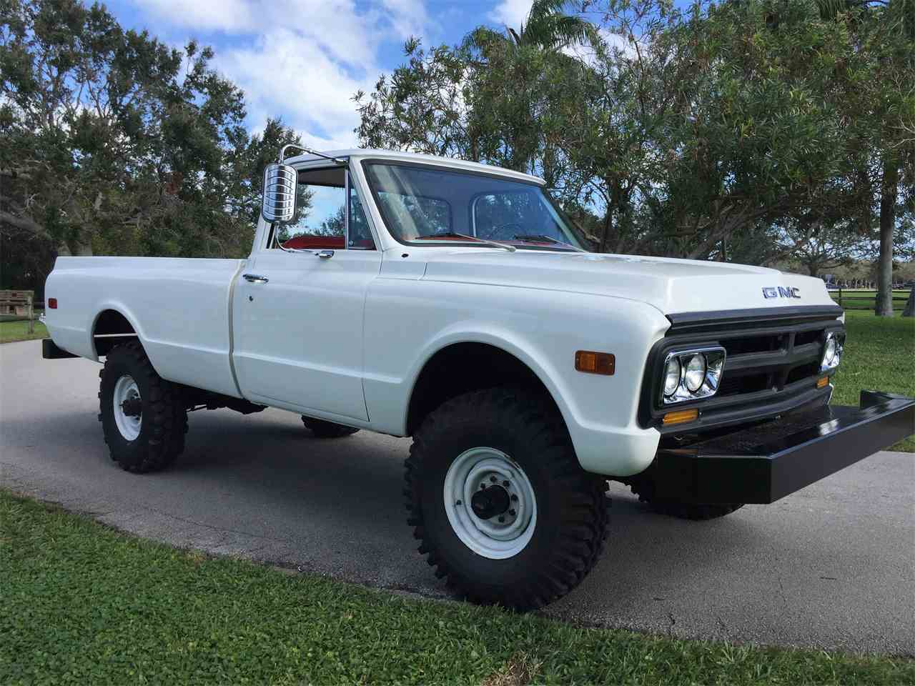 Florida Gmc Truck Dealers1969 For Sale Classiccars Com Cc 1969 Pickup 943178