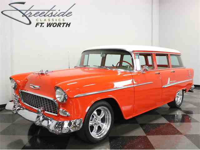 Picture of Classic 1955 Bel Air Wagon located in Ft Worth Texas - K7WR