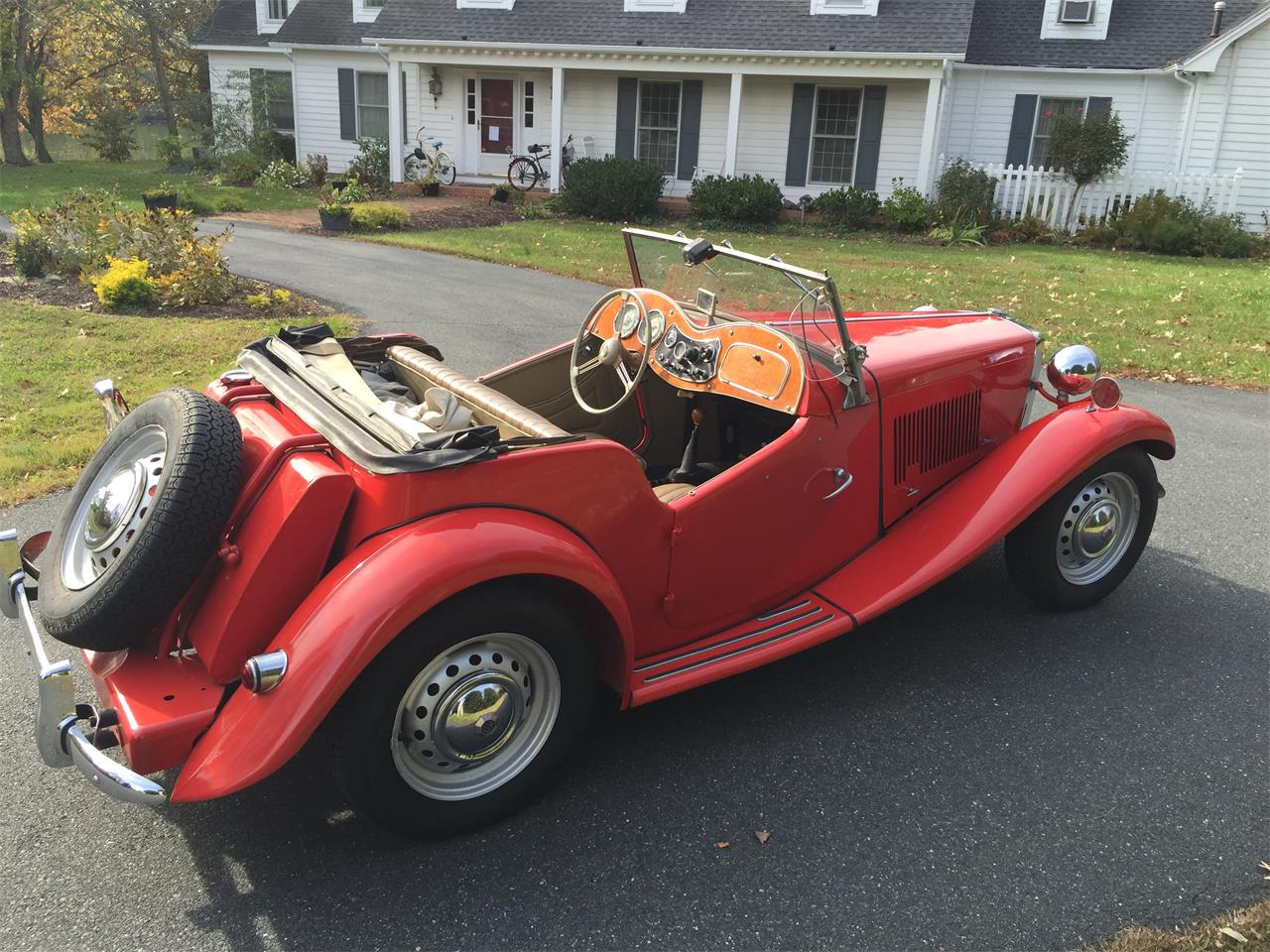 Large Picture of Classic '53 MG TD - K5KO