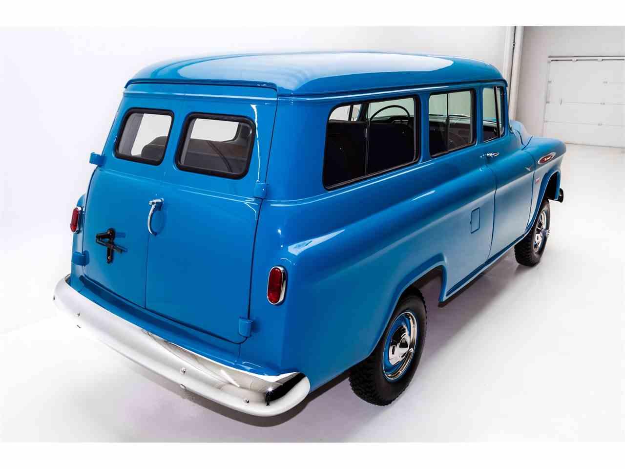 1957 chevrolet suburban for sale cc 944072. Black Bedroom Furniture Sets. Home Design Ideas