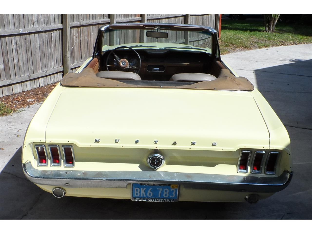 Large Picture of 1967 Ford Mustang located in Neptune Beach Florida Offered by a Private Seller - K8GW