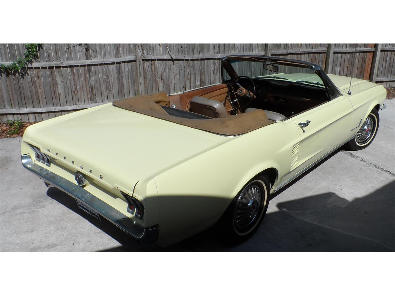 Large Picture of '67 Ford Mustang - $25,000.00 Offered by a Private Seller - K8GW