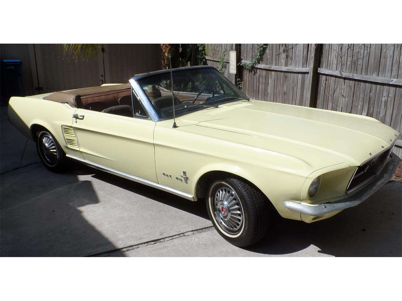 Large Picture of Classic 1967 Ford Mustang Offered by a Private Seller - K8GW