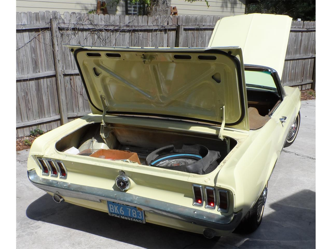 Large Picture of Classic '67 Mustang located in Neptune Beach Florida - $25,000.00 Offered by a Private Seller - K8GW