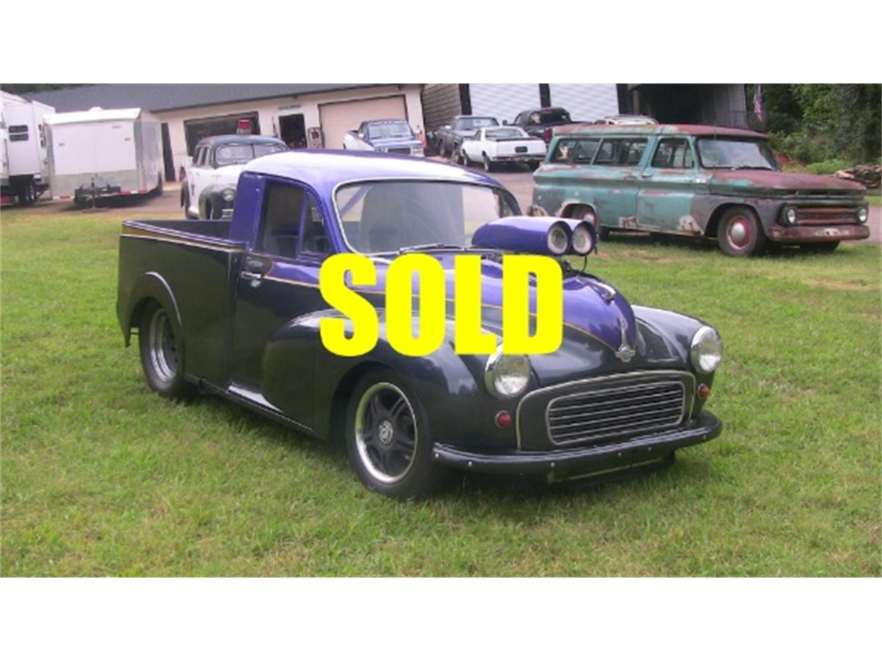 Large Picture of Classic '60 Morris Minor located in Cornelius North Carolina - $14,500.00 Offered by Classic Lady Motors - K944