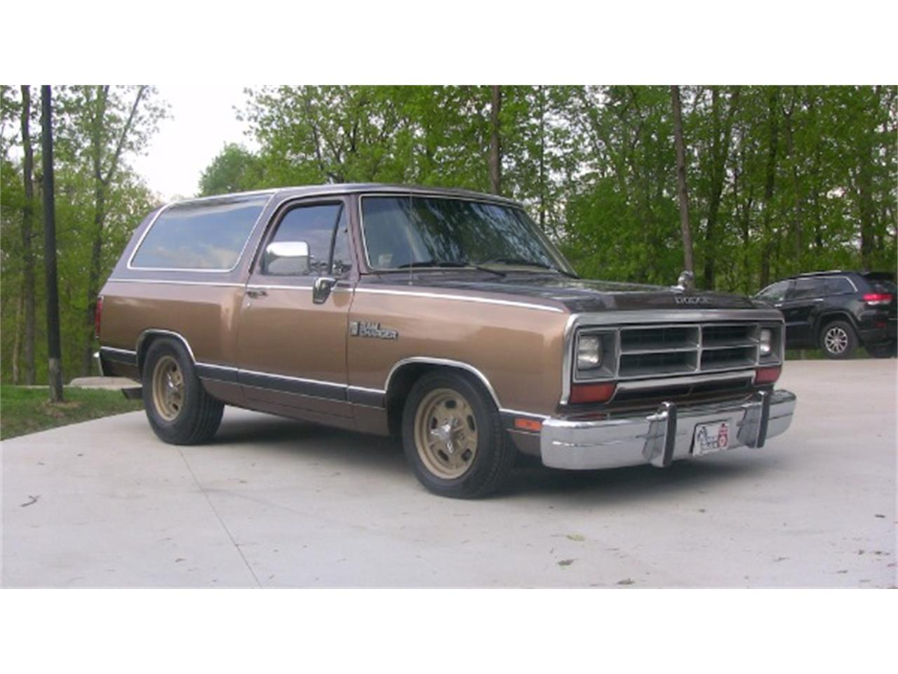 1988 Dodge Ramcharger For Sale Classiccars Com Cc 944954