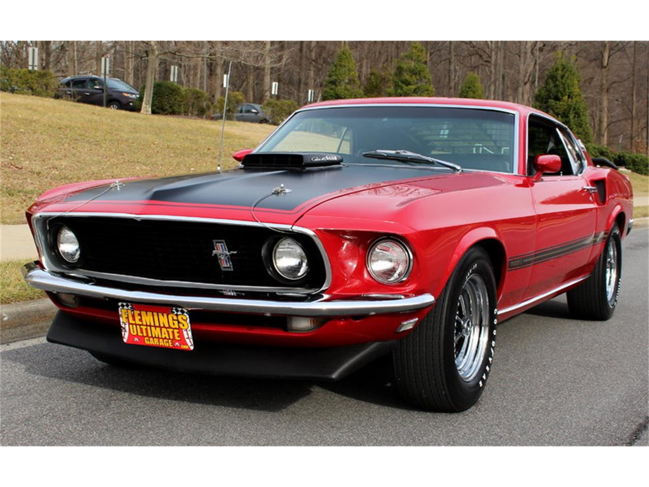 Large picture of classic 69 mustang mach 1 428 cobra jet located in maryland
