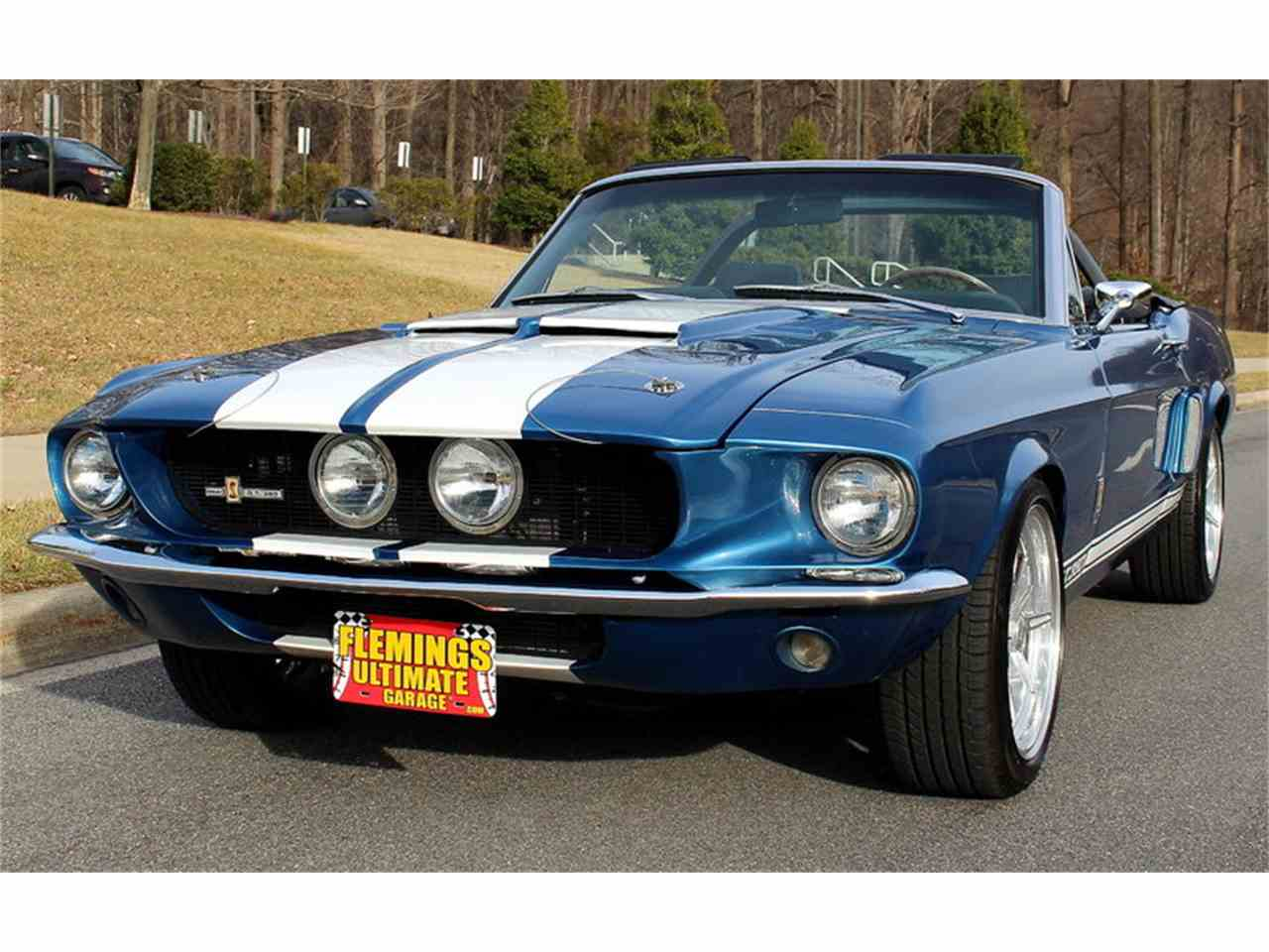 1967 Ford Mustang Shelby Gt350 Convertible For Sale