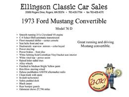 Picture of 1973 Mustang Offered by Ellingson Motorcars - K5R9