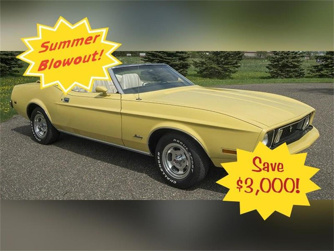 Large Picture of Classic '73 Ford Mustang - $19,950.00 Offered by Ellingson Motorcars - K5R9