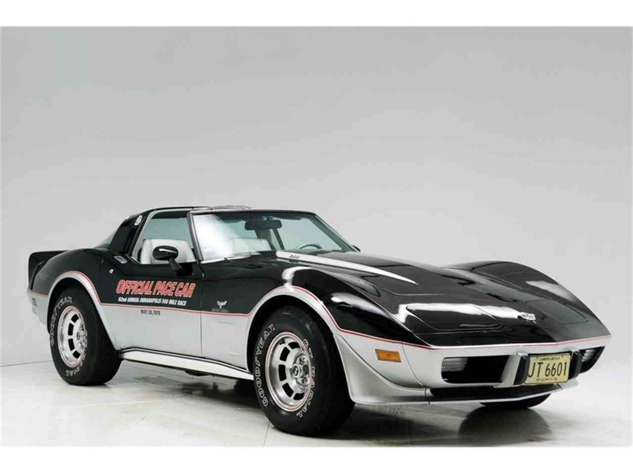 Large Picture of 1978 Corvette  Pace Car located in Illinois - K9YN
