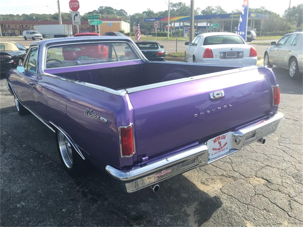 Large Picture of '65 Chevrolet El Camino located in Tavares Florida Auction Vehicle Offered by Seth Lee Auto Sales - KA12
