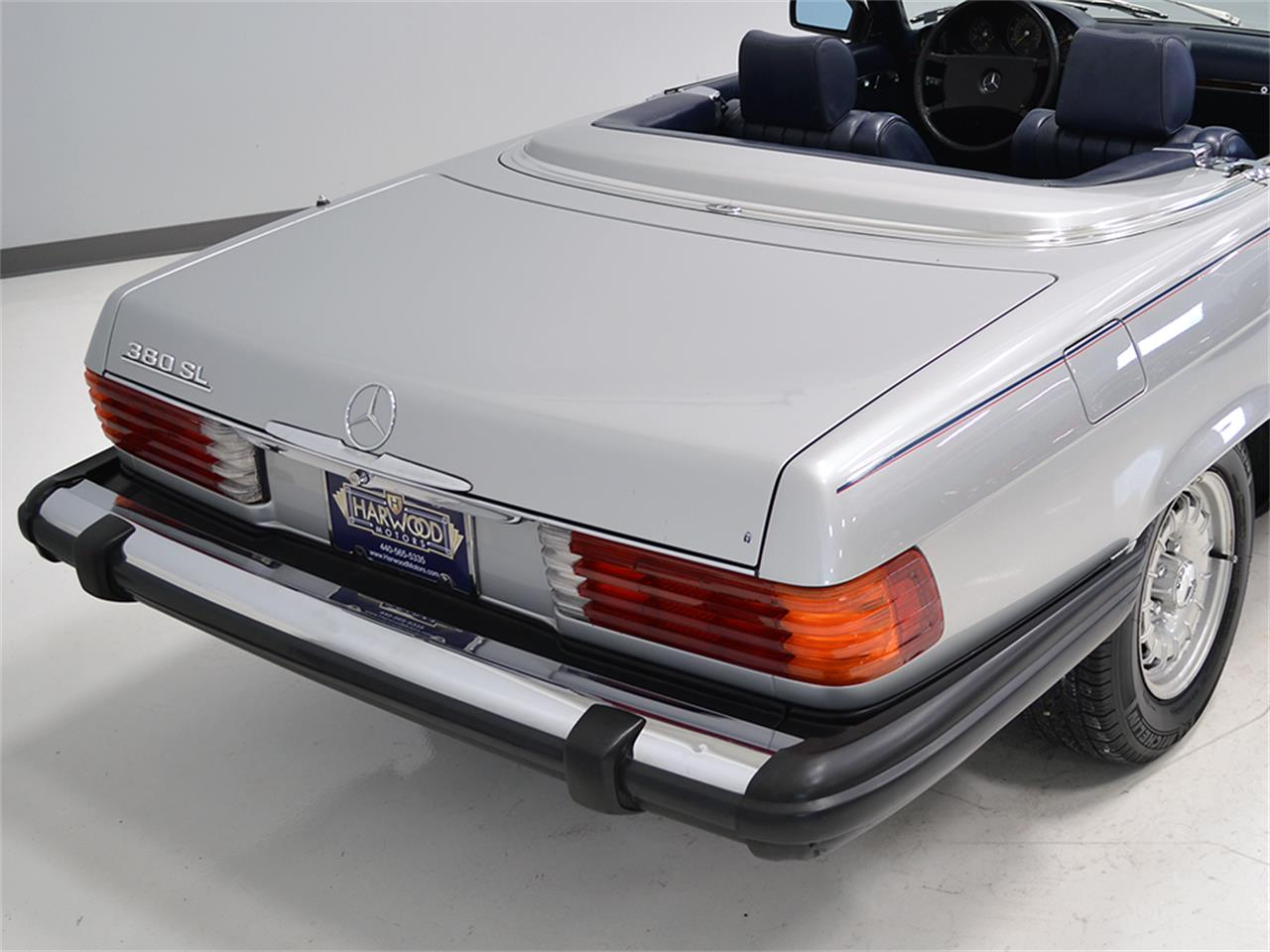 Large Picture of 1984 Mercedes-Benz 380SL located in Ohio - $17,900.00 Offered by Harwood Motors, LTD. - KA2F