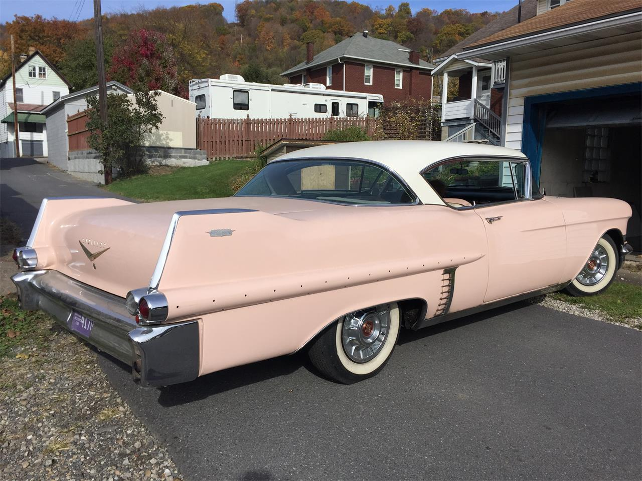 1957 Cadillac Coupe DeVille || For Sale - YouTube