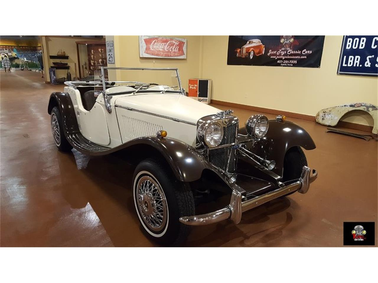 Large Picture of '87 Jaguar SS100 Offered by Just Toys Classic Cars - KA6C