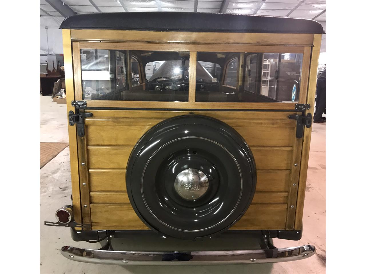 Large Picture of Classic 1937 Woody Wagon located in Pittsburgh Pennsylvania Offered by Auto Palace LLC - KA77
