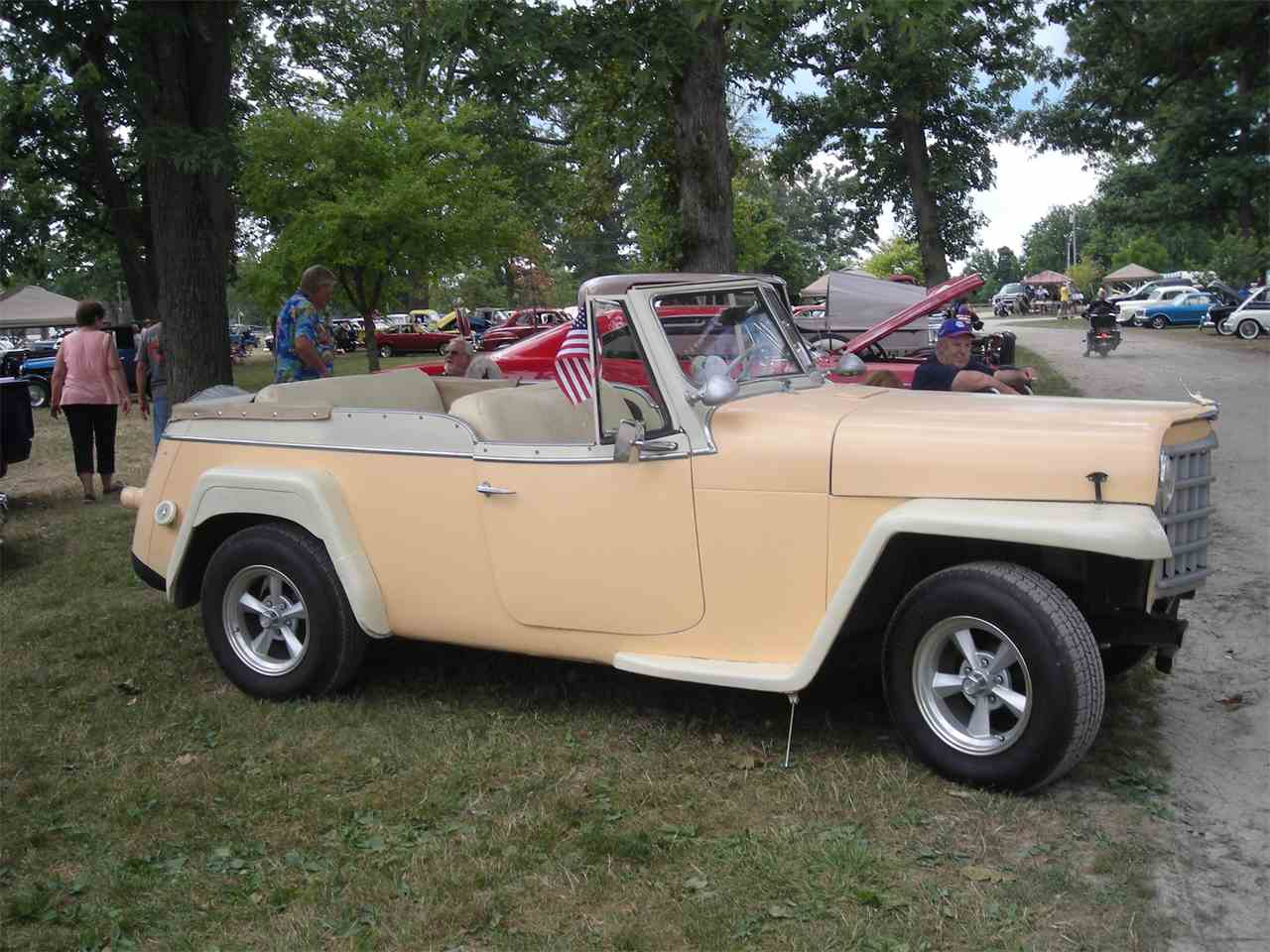 1950 willys jeepster for sale cc 946357. Black Bedroom Furniture Sets. Home Design Ideas